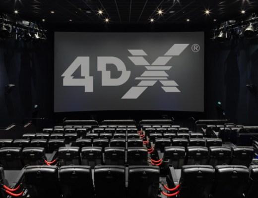 Salle de cinéma Gaumont Pathé 4DX