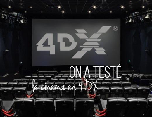 On a testé : le cinéma en 4DX