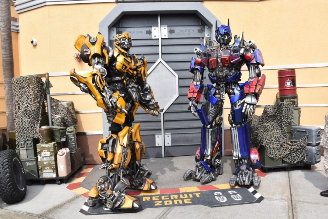 transformers universal studios hollywood los ángeles