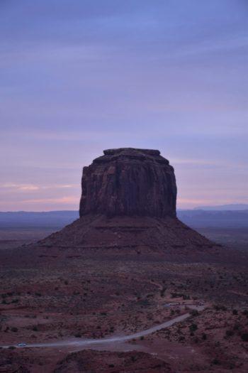 Levé de soleil Monument Valley