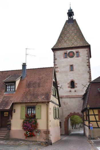 Clocher Bergheim en Alsace