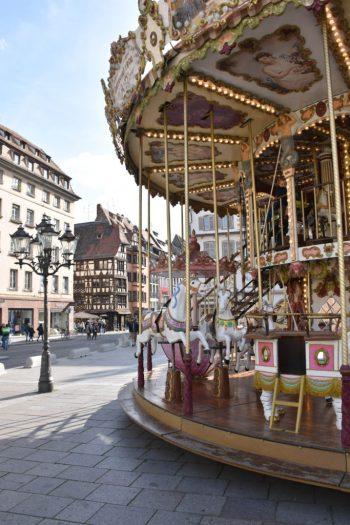 Manège centre ville de Strasbourg