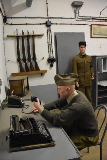 Salle de commandement Ouvrage du Four à Chaux - ligne Maginot - Lembach