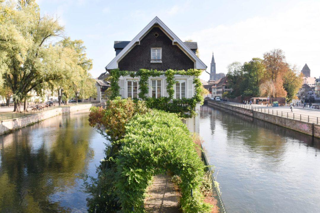Strasbourg et ses canaux
