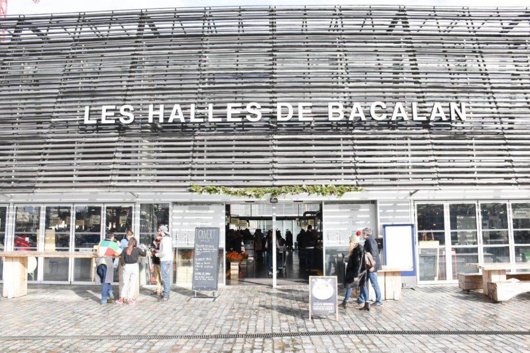 Les halles de Bacalan à Bordeaux_