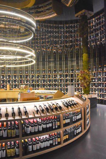 Les vins de la cité du vin de bordeaux_