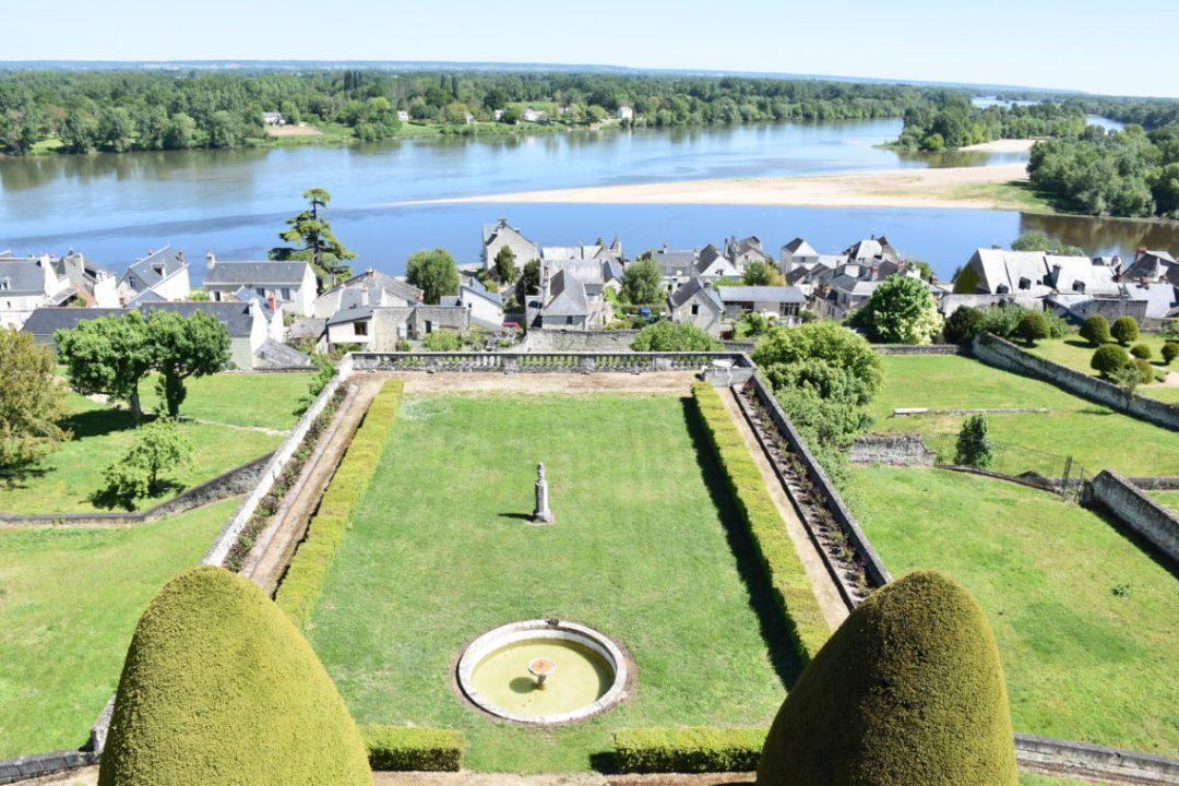Les jardins du Chateau de Moh à Candes saint Martin
