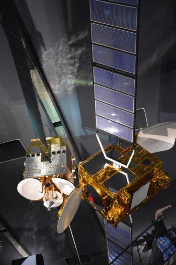 Satelite au salon du bourget France