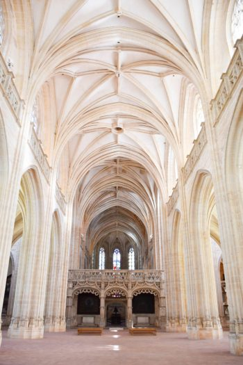 l'intérieur du monastère du brou