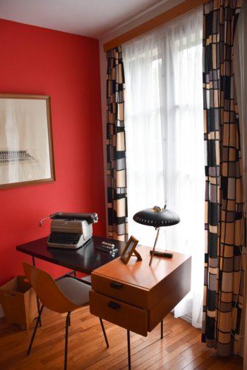 Appartement témoin au Havre_mobilier de l'époque