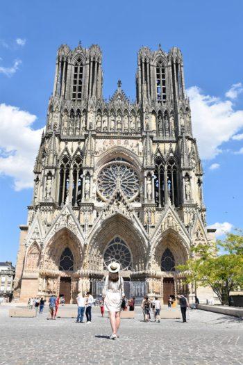 Magnifique Cathédrale notre dame de Reims
