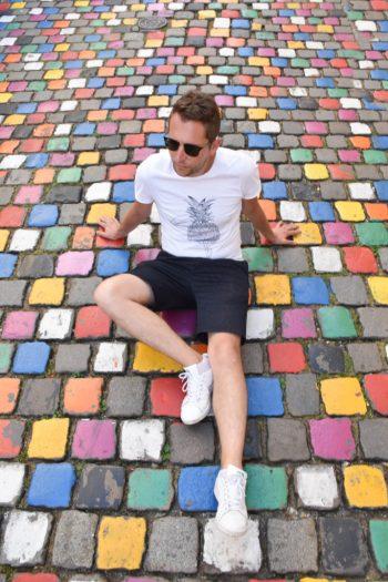 Rue colorée à Reims - Rue du Tambour