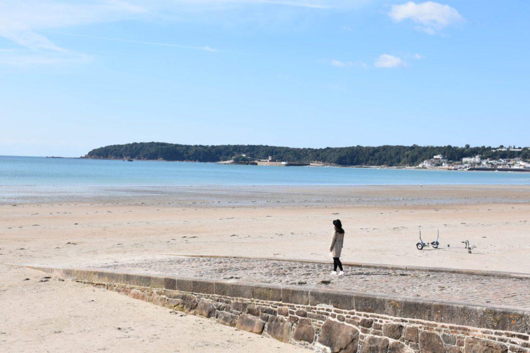 Baie de St Aubin à Jersey