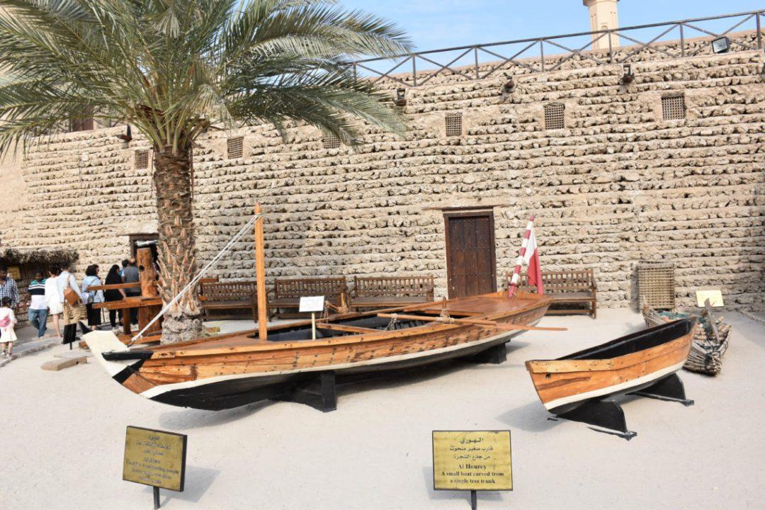 Intérieur du Dubai Museum