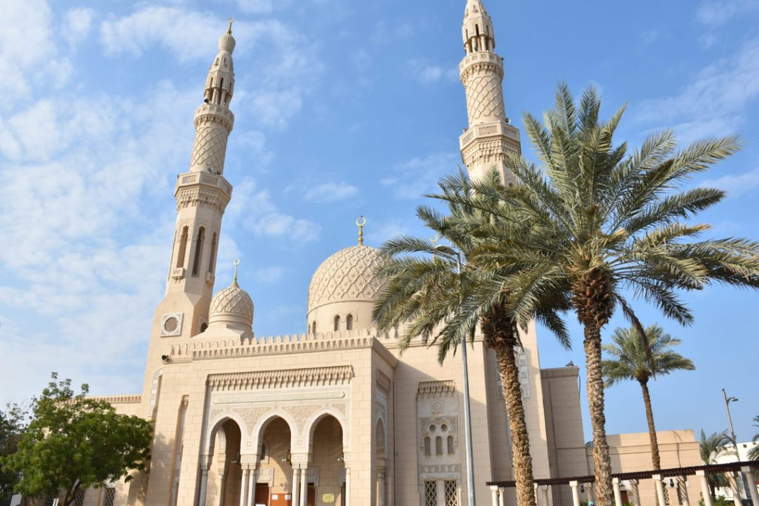 Mosquée de Jumeirah à Dubai