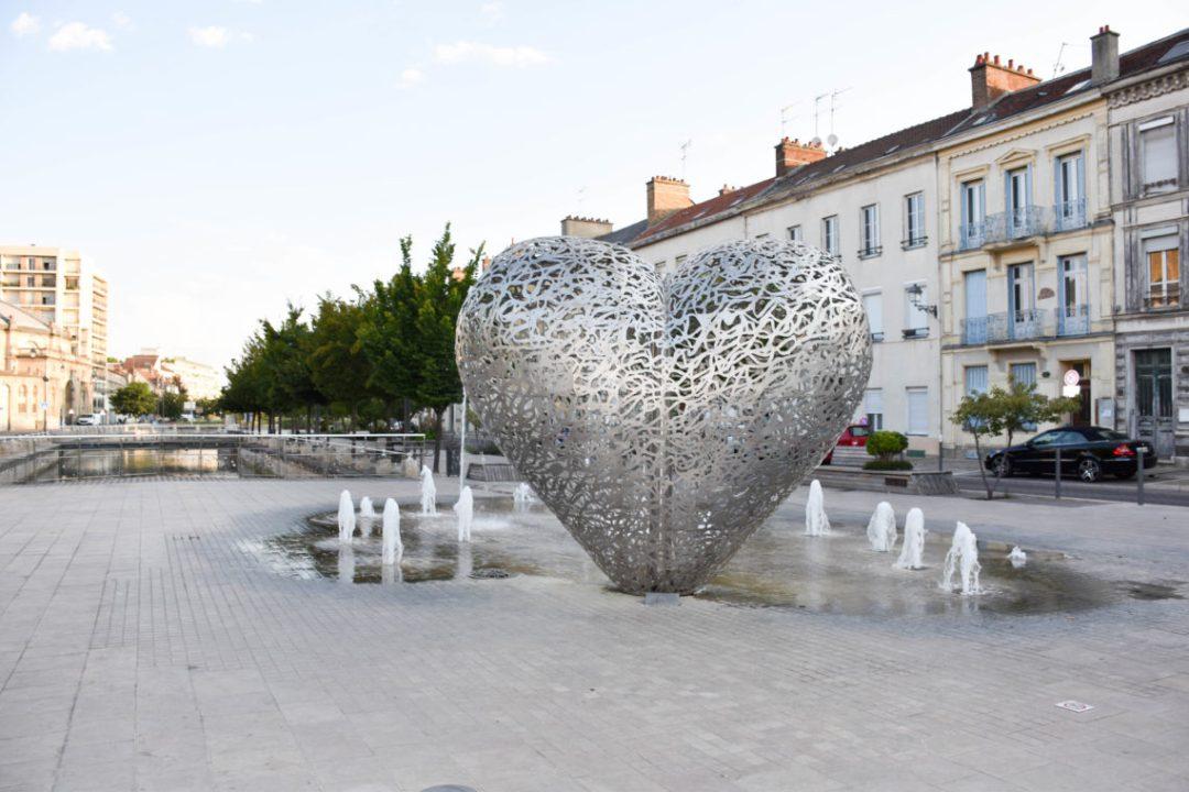 Le coeur de Troyes, région grand est_
