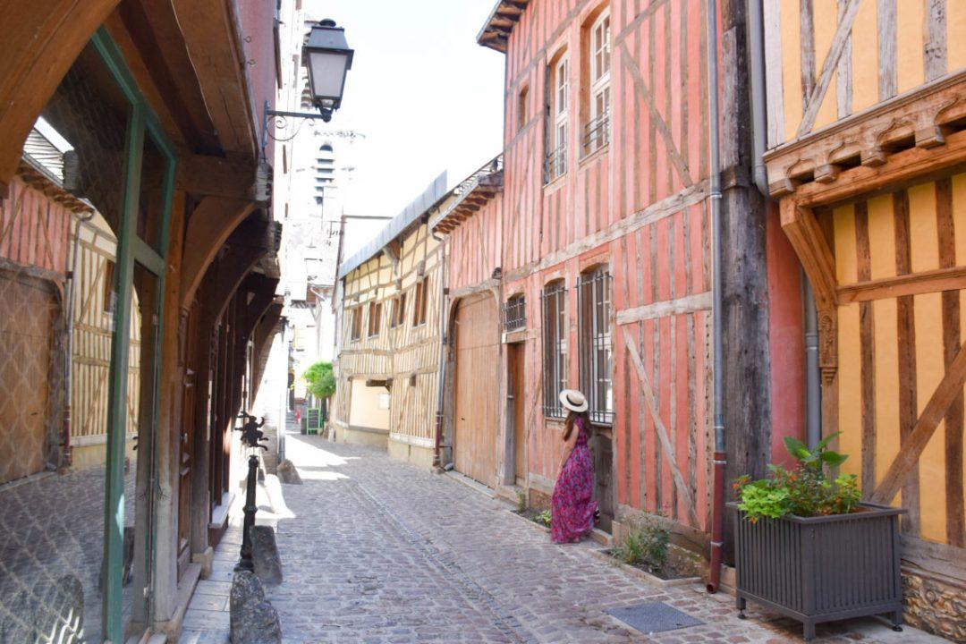 Ruelle des chats à Troyes