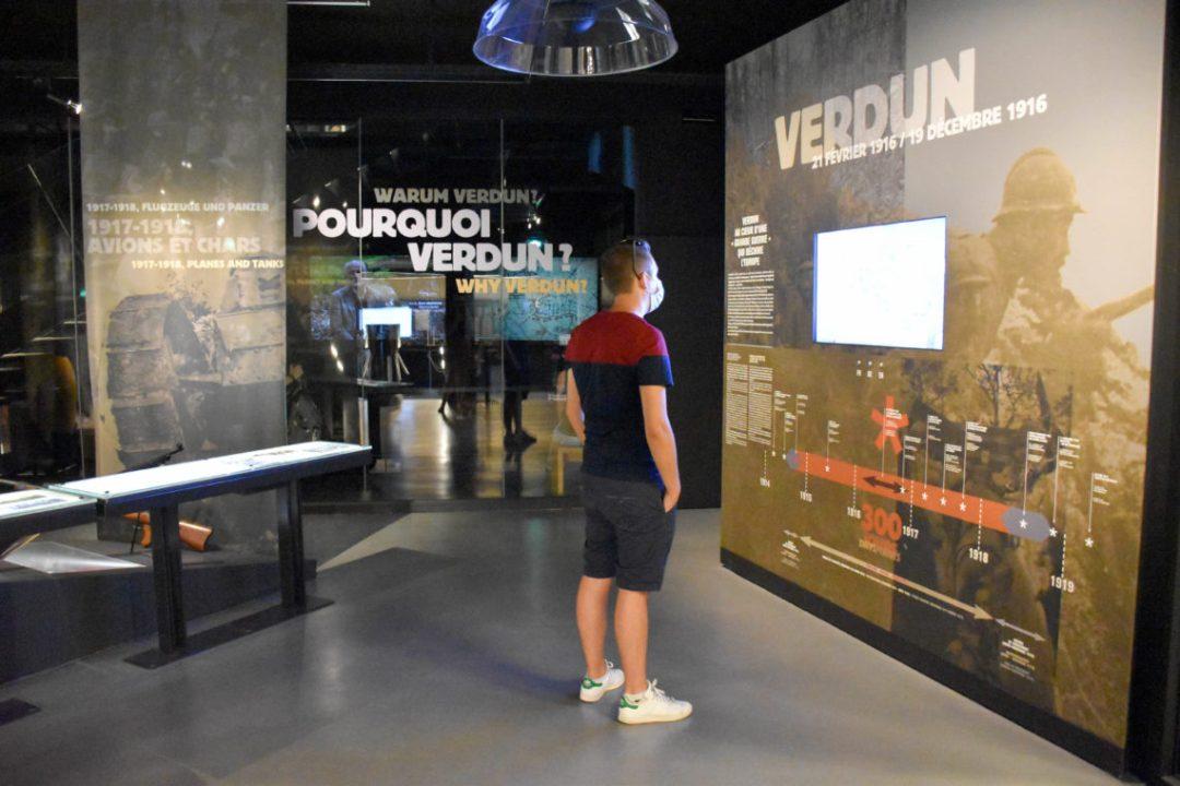 Intérieur du Mémorial de Verdun