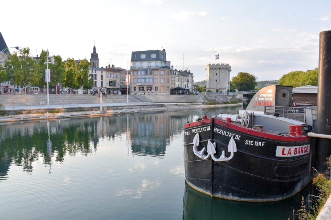 Meuse et ville de Verdun