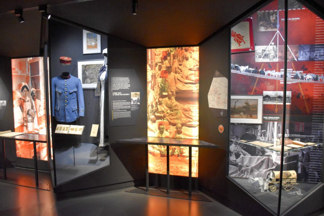 Visite guidée du mémorial de Verdun