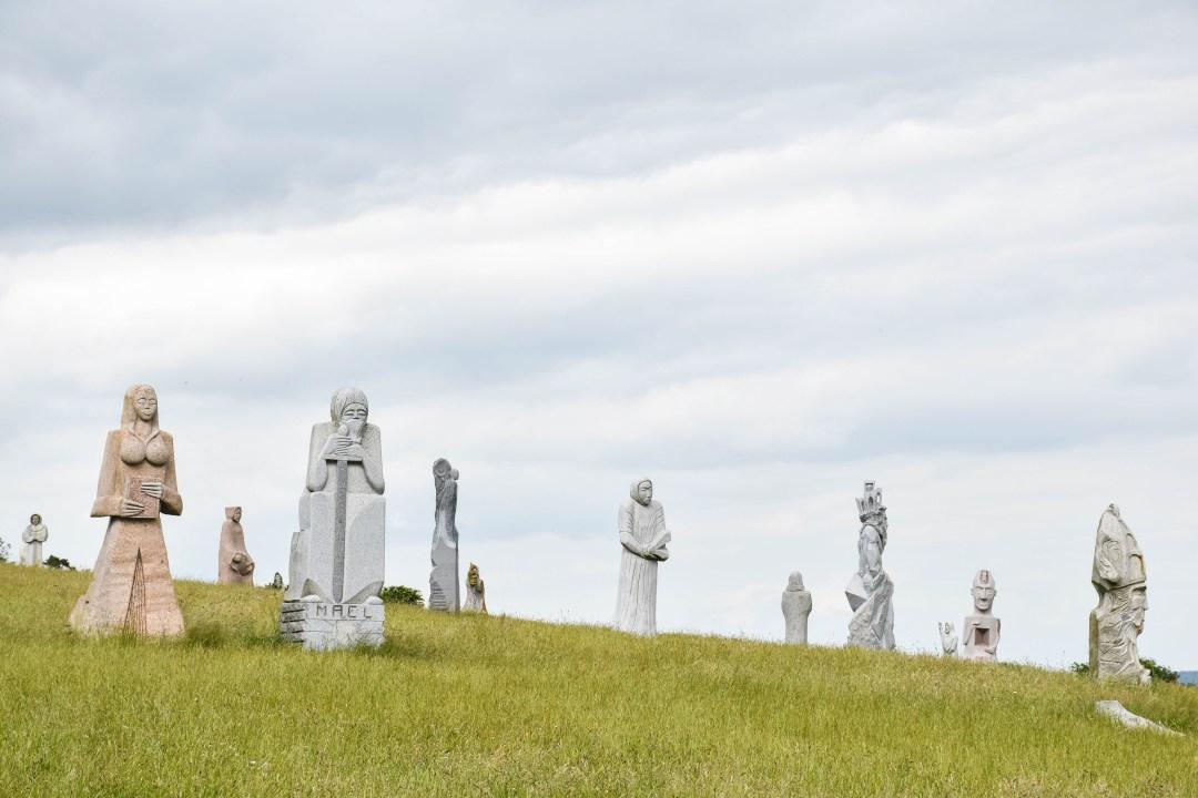 La Vallée des Saints dans les Côtes d'Armor_