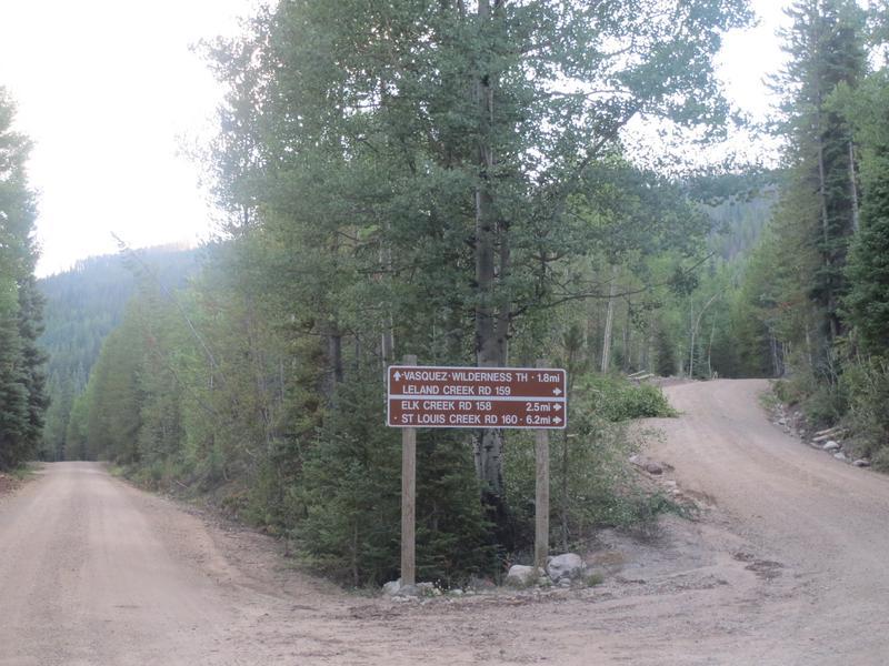 Vasquez Ridge  Arapaho National Forest