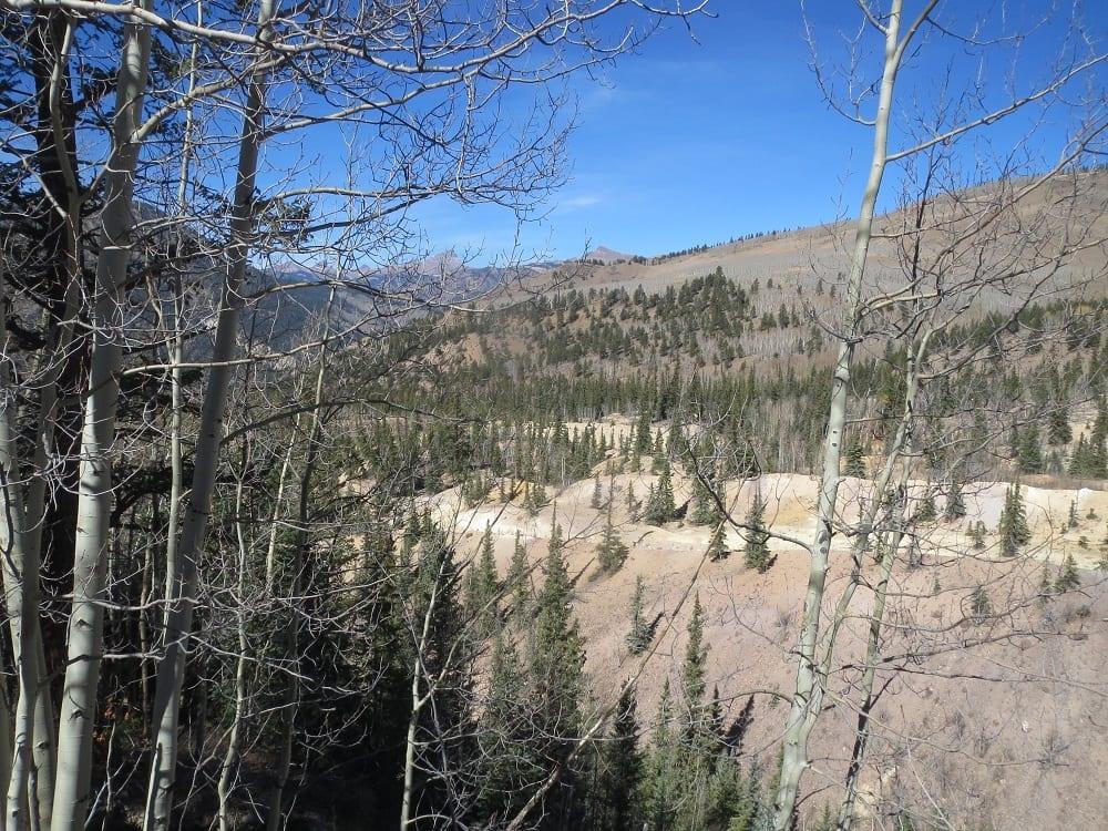 Slumgullion Earthflow  National Natural Landmark near
