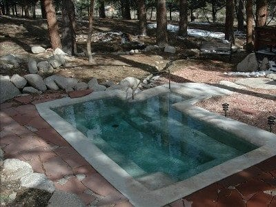 Alpine Hot Springs Hideaway  Nathrop  Colorado Hot Springs