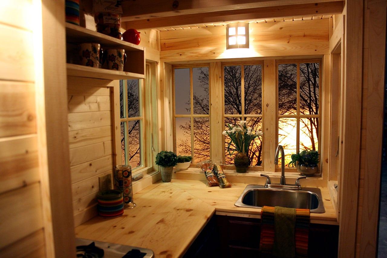 Floor Home Tumbleweed Plans Tiny