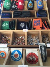 Buttons, koozies, stickets! Oh my!
