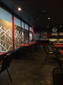 Inside OMG! Fusion Restaurant