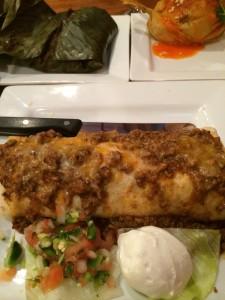 Burrito and Tamlies at Chiltepes