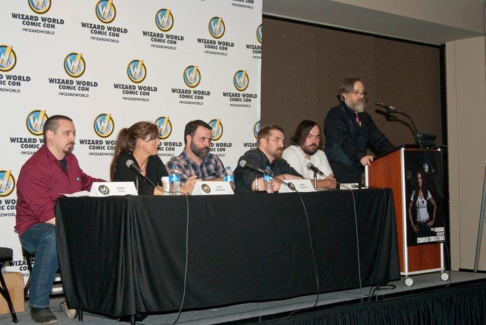 Panel at Comic Con
