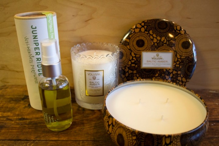 Candles and Fragrances at STASH
