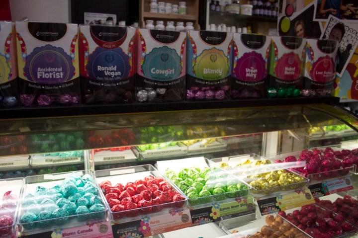 Chocolates at Lohmann's Good Things
