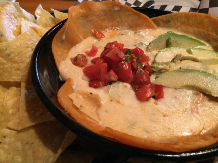 Chicken Enchilada Dip at Deep Deuce Grill