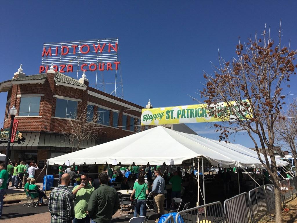 McNellie's St Patrick's Day in Midtown - photo by Dennis Spielman