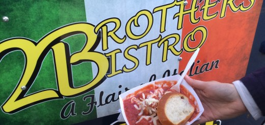 2 Brothers Bistro's meatballs at H8th - Photo by Dennis Spielman