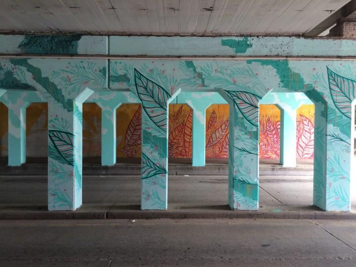 Cultivation Mural in Bricktown