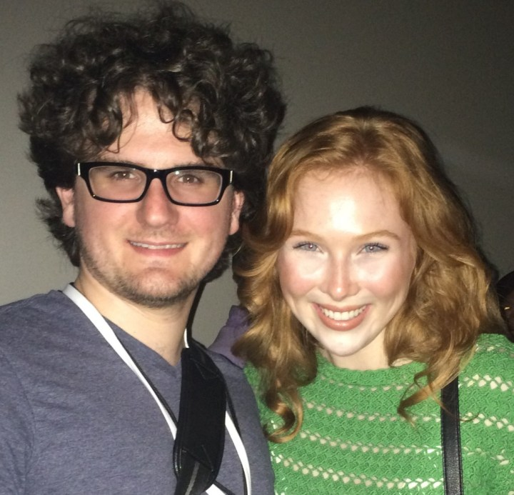 Myself with Molly C. Quinn