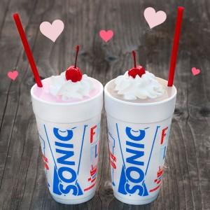 Sonic Milkshakes