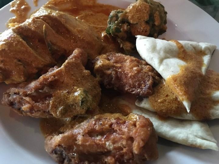 Chicken at Misal Indian Bistro
