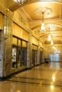 A hallway of the Tulsa Art Deco Museum - photo by Dennis Spielman