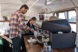 Making Coffee at Junction Coffee - photo by Dennis Spielman