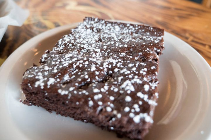 Brownies are yum