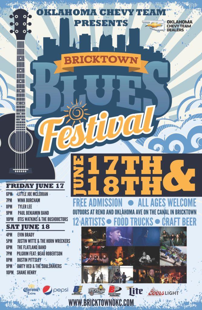 Bricktown Blues Festival_poster