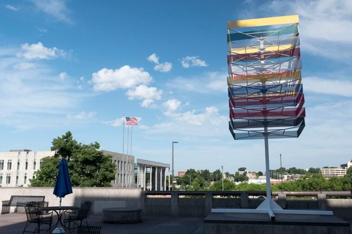 Adam Lanman - Skyline Timeline - photo by Dennis Spielman