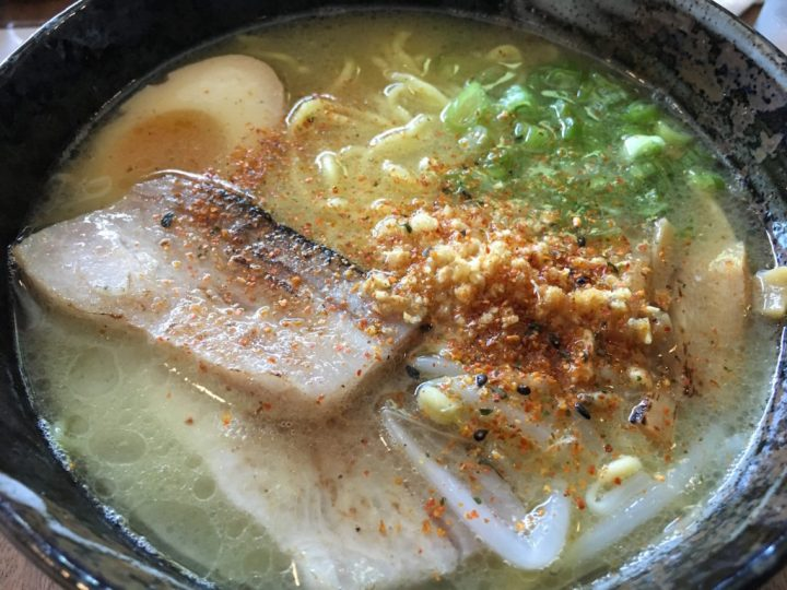 The Ramen of Gorō Ramen + Izakaya - photo by Dennis Spielman