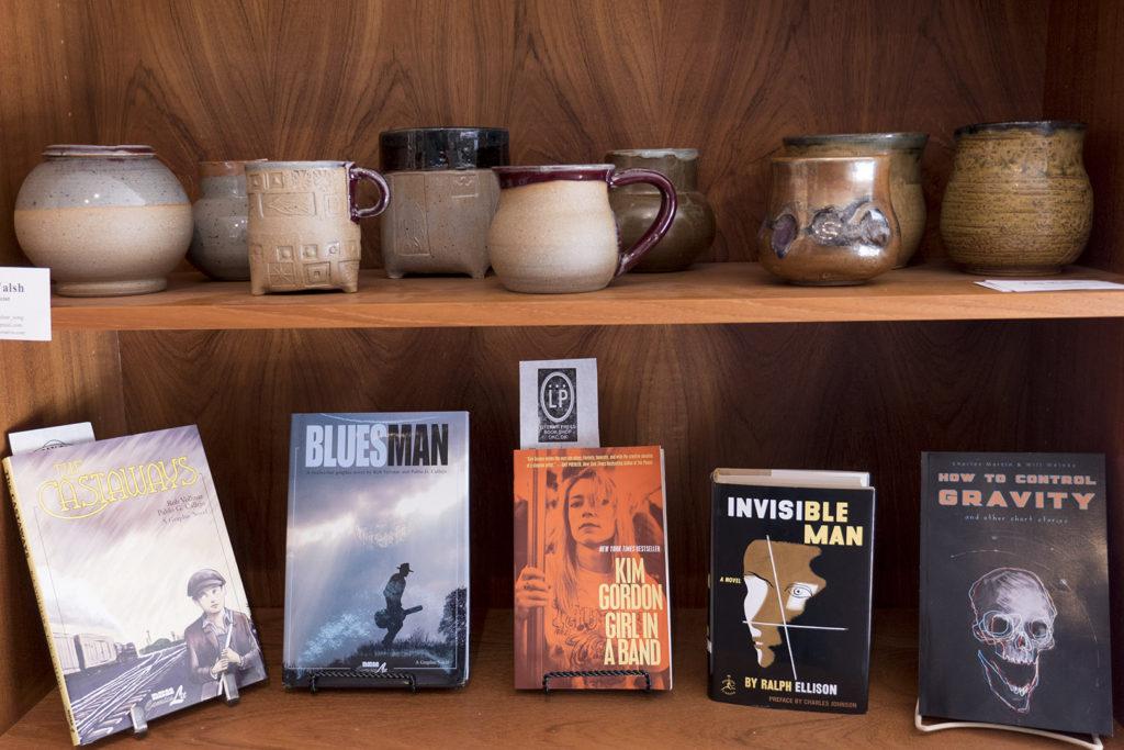 Paseo Shopping at Literati Press - photo by Dennis Spielman