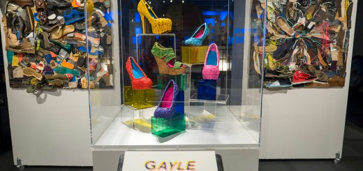 Gayle Curry's shoes at Sole Expression at Science Museum Oklahoma